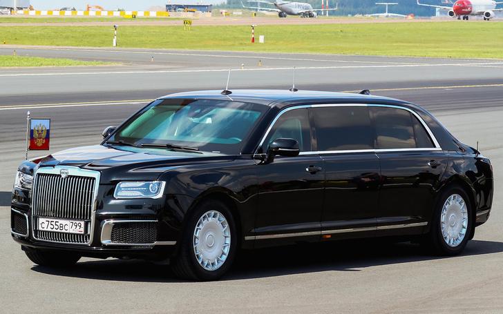 Фото №1 - Купить лимузин как у Владимира Путина можно будет только в 2020 году