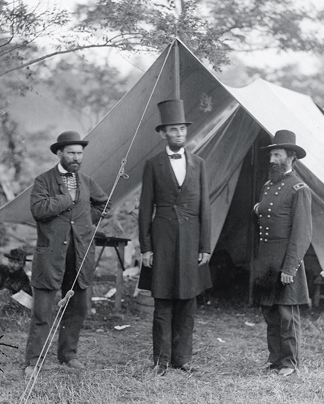 Пинкертон, Линкольн и Макклеллан, 1860 г.