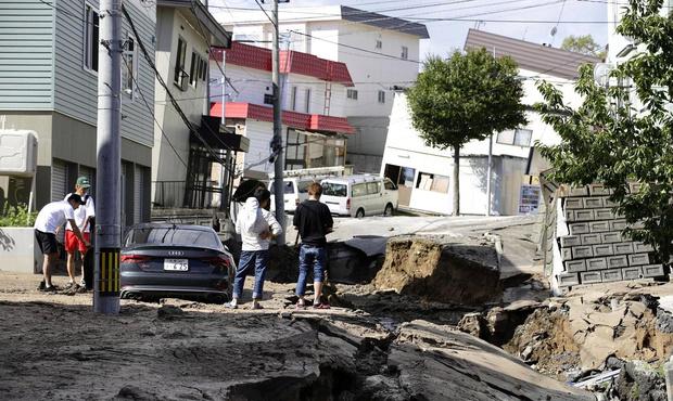 Фото №1 - Природа против Японии: мощное землетрясение на Хоккайдо (галерея)