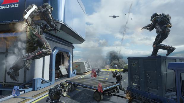 Фото №5 - Дежурство экзоскелетов. 5 причин ждать выхода новой игры Call of Duty: Advanced Warfare