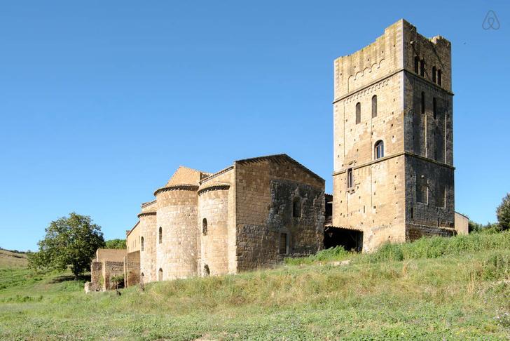 Средневековая сторожевая башня