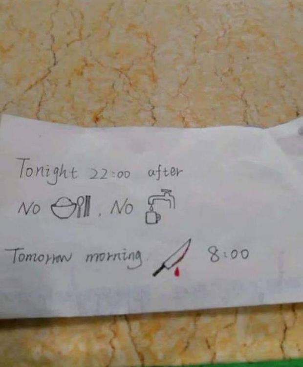 Фото №2 - Медсестра нарисовала пациенту записку-ребус: смысл послания уточняется