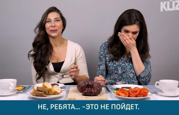 Фото №1 - Иностранцы пробуют русскую колбасу и делятся впечатлениями (видео)