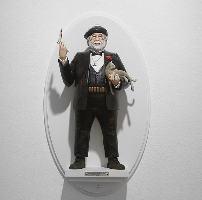 Фото №5 - Скульптор создает диковатые статуэтки знаменитых кинорежиссёров