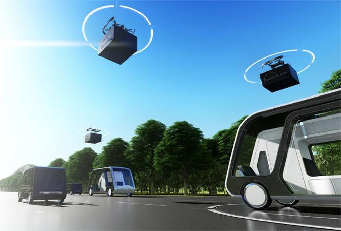Фото №3 - Кибер-отель на колесах: в Америке придумали транспорт будущего