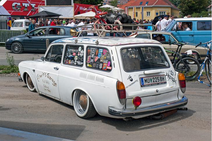 Фото №40 - Самые безумные машины фестиваля GTI Treffen