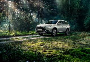 В России продано 250 000 автомобилей Mitsubishi Outlander!