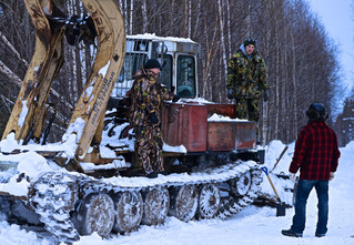 Сибирская резня бензопилой