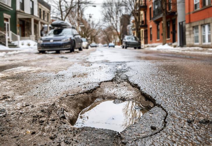 Фото №1 - Рейтинг российских городов с самыми ужасными дорогами