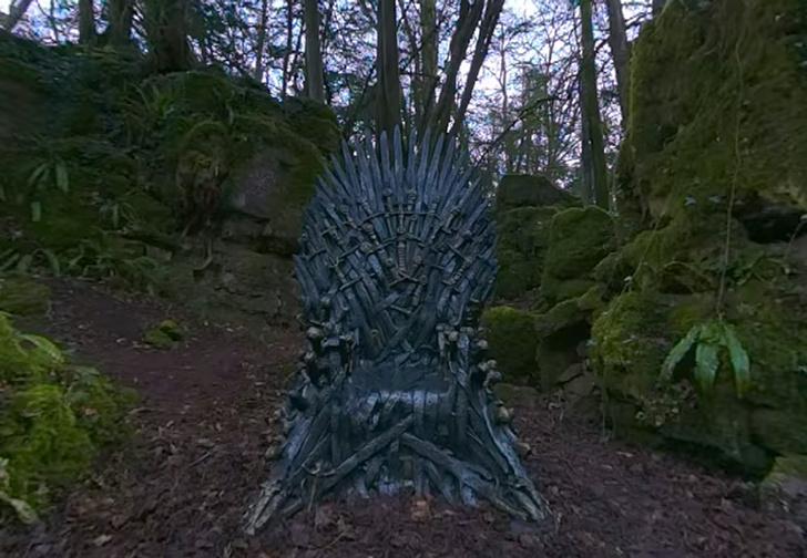 Фото №1 - HBO спрятали шесть Железных тронов по всему миру и предлагают фанатам их найти