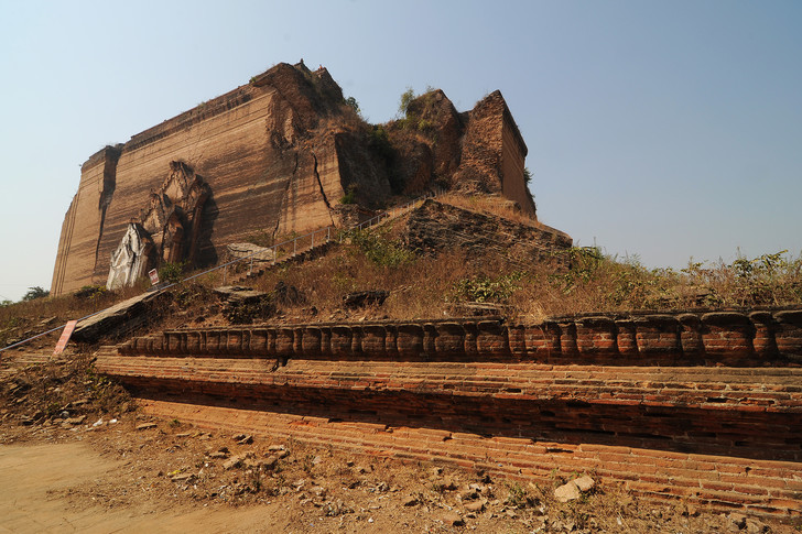 Фото №3 - Идеи для отпуска: Мингун-Пайя, Мьянма