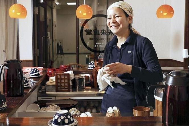 Японский ресторан предлагает поработать за еду