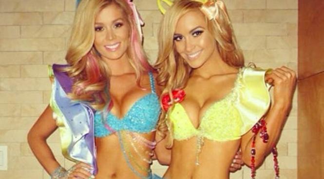 Фото №2 - Модель в лифчике за 2 миллиона долларов, звезды в откровенных хеллоуинских нарядах и другие самые соблазнительные девушки недели