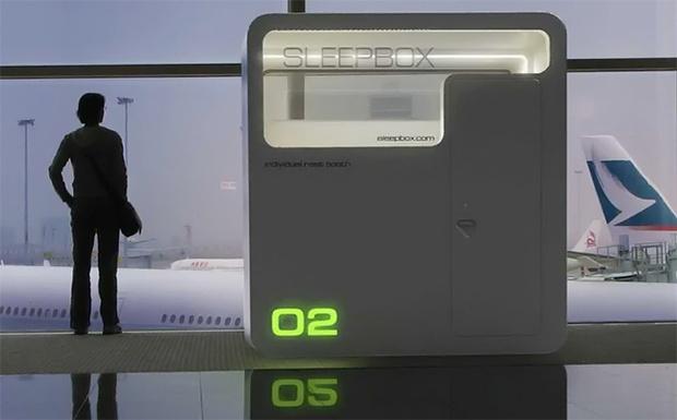 Фото №2 - В американских аэропортах устанавливают спальные капсулы