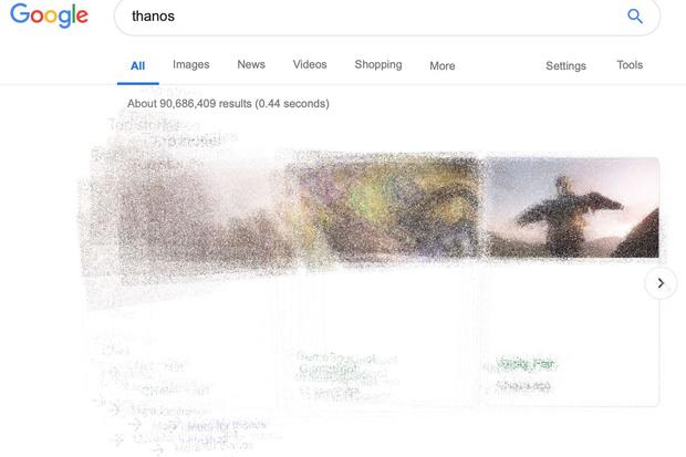 Фото №2 - Google-поиск ненадолго позволил своим пользователям побыть Таносом