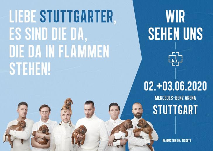 Фото №2 - Rammstein выложили ироничные плакаты к своему концертному туру