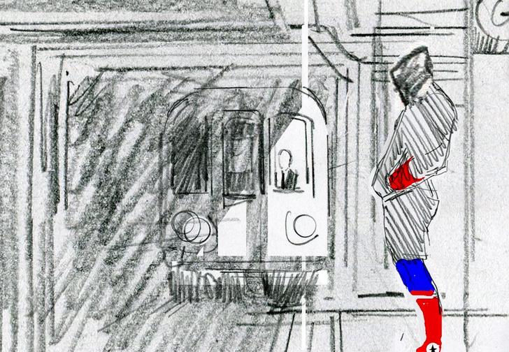 Фото №1 - Аниматоры показали тестовые наброски мультфильма «Человек-Паук: Через вселенные» (видео)