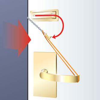 Фото №3 - Как открыть дверь, закрытую на цепочку