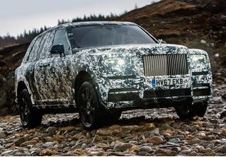 Смотри, как первый внедорожник Rolls-Royce проходит испытания. Видео!