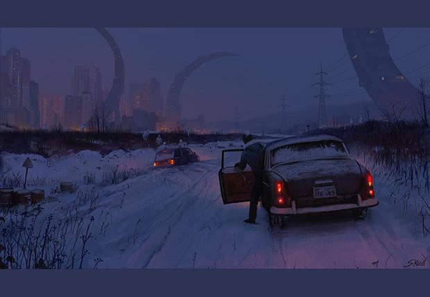 Фото №1 - 18 картин Стефана Койдла — художника, который умеет красиво пугать