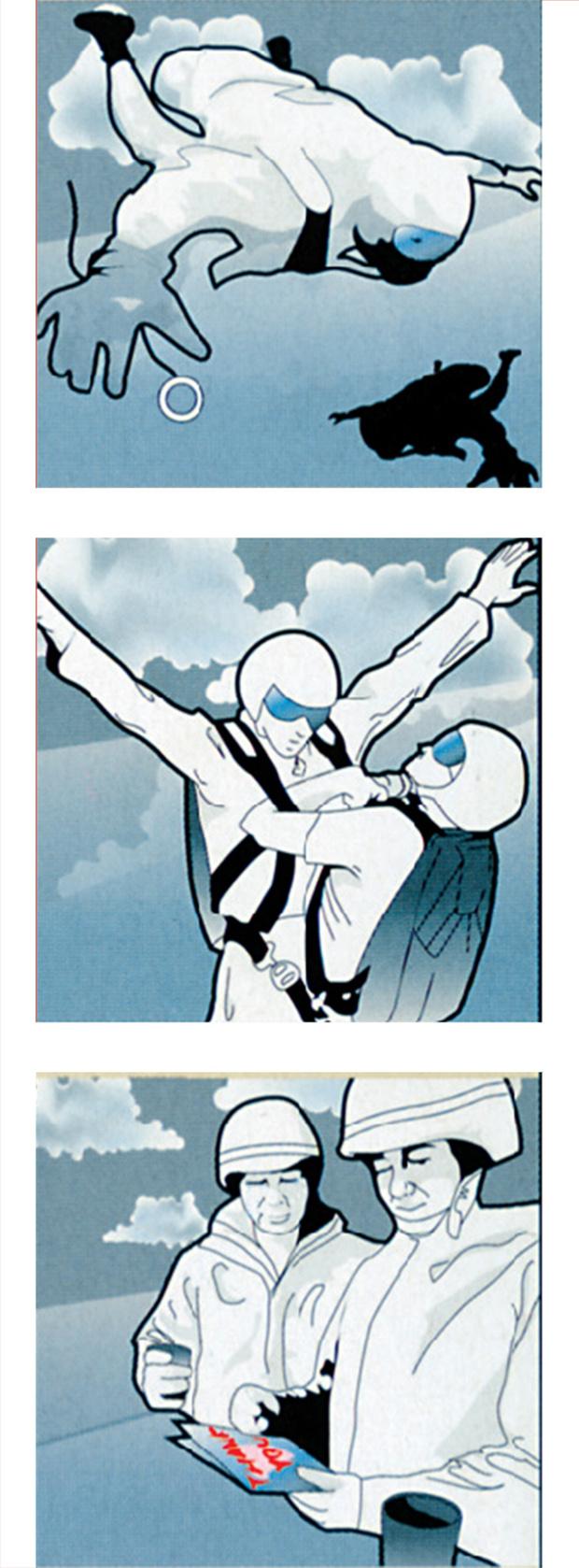 Фото №1 - Как выжить, если парашют не раскрылся