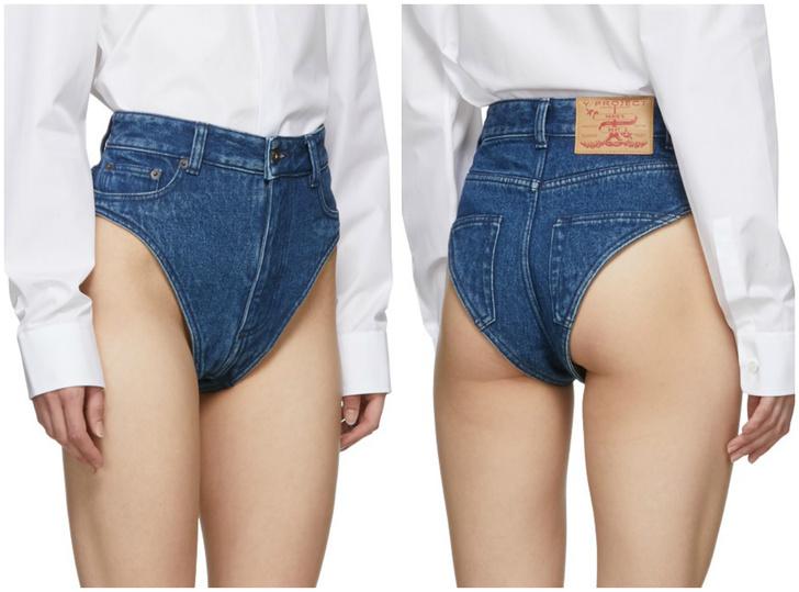 Фото №1 - Трусинсы — новый модный и очень странный предмет одежды за $315
