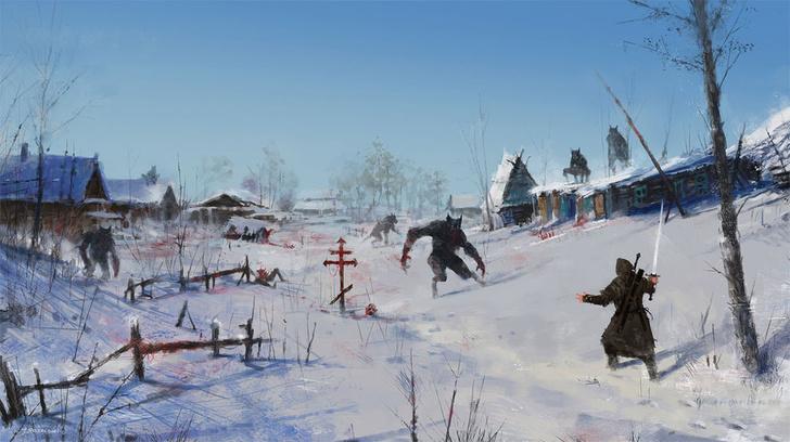 Фото №20 - Зловещая стимпанковская живопись с элементами славянского быта