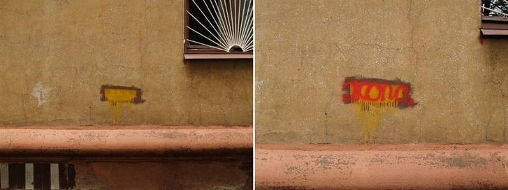 Фото №31 - Красное на черном: Как уличный художник троллил коммунальщиков