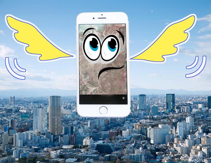 Фото №1 - Что будет, если уронить iPhone с высоты 140 метров? Отгадка — в этом уникальном ВИДЕО!