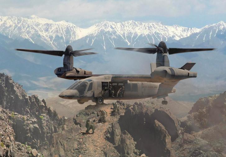 Фото №7 - Оцени новый футуристический вертолет армии США