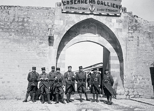 Французский иностранный легион в Сирии. Начало XX века