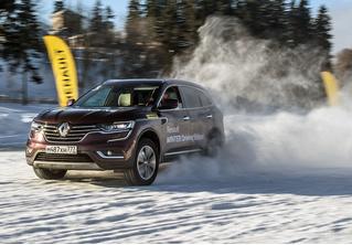 Нефигурное катание: боком по льду на полноприводных Renault