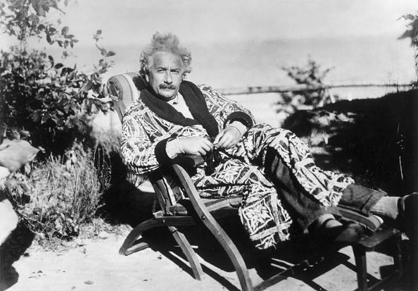 альберт эйнштейн на отдыхе