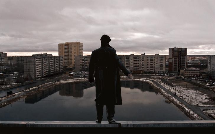Фото №10 - Вот что получилось бы, если бы голливудские фильмы снимали в России!