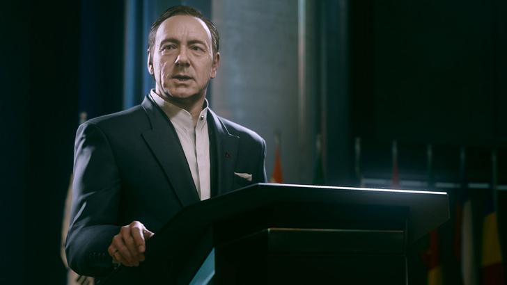 Фото №4 - Дежурство экзоскелетов. 5 причин ждать выхода новой игры Call of Duty: Advanced Warfare
