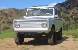 Самый лучший ретрофутуризм: электрический Ford Bronco