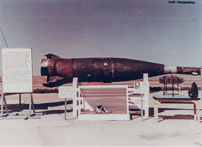 Министерство обороны рассекретило фотографии советских баллистических ракет!