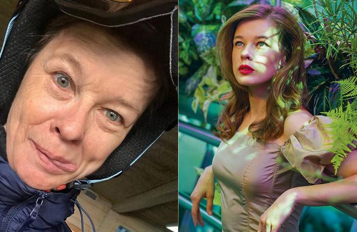 Фото №2 - Самые красивые российские звезды-участницы флешмоба FaceApp, выложили «состаренные» фото