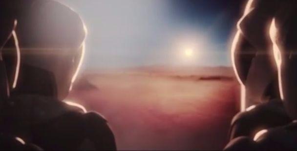 Фото №1 - Впечатляющее видео! Вот как будет выглядеть колонизация Марса!