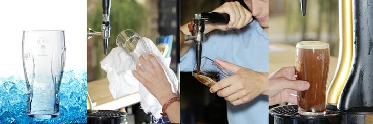 Фото №4 - Как правильно наливать и употреблять светлое и темное пиво (оказывается, есть тонкости)