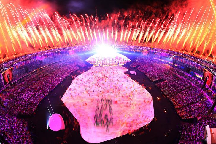 Открытие Олимпиады 2016 в Рио