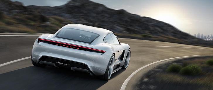 Фото №1 - Как будет выглядеть электрокар от Porsche? А вот так!