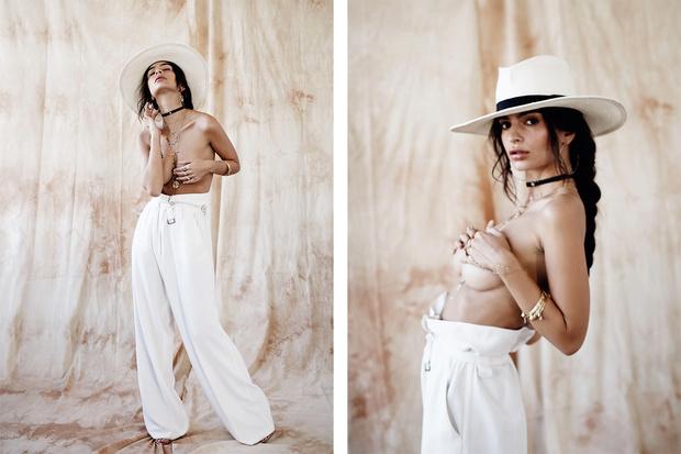 Эмили Ратаковски разделась для ювелирного бренда. И это лучшие фото, которые ты увидишь за сегодня