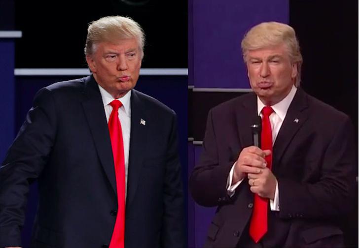 Фото №1 - Газета по ошибке опубликовала фото Алека Болдуина в образе Дональда Трампа вместо фото настоящего Трампа