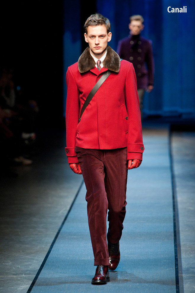 Клетчатая куртка Canali