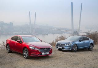 Mazda 6 козыряет русским паспортом