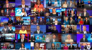 Когда множество телеканалов управляется одним редакционным центром (пугающее ВИДЕО)