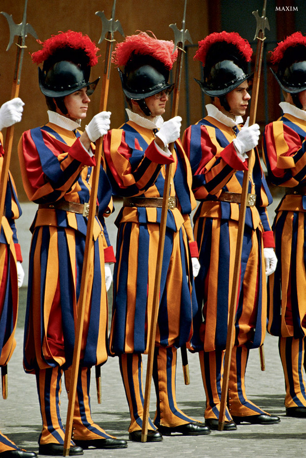 Фото №12 - Военные и смешные: самая чудная форма армий мира