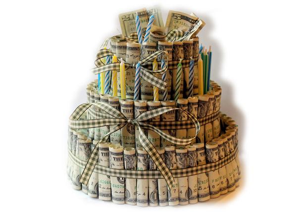 Торт из денег