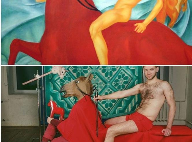 чумовые косплеи картины времен октябрьской революции доказывающие искусство